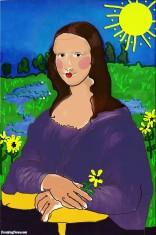 Mona-Lisa-Child-s-Painting-72359