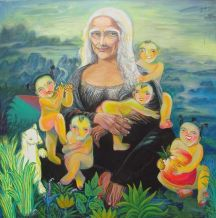 Mona-Lisa old age