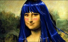 mona_lisa__blue_hair_ver___by_sayori_tazura-d7akenq