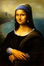 Mona_Lisa_with_a_pearl_earring_by_BLeMinh