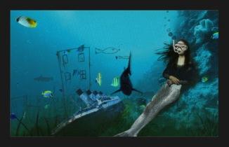 monalisa___the_mermaid___by_mareeum-d3b8rl7