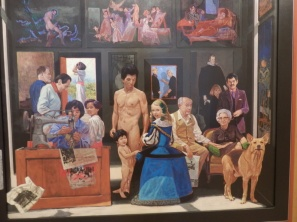 Herman Braun Vega (Peru) 'La familia informal' 1992 (detail)