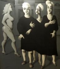 Carlos Carmona (Argentina) 'Las Hermanas' 1986