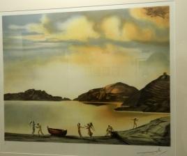 Salvador Dali (España) 'El Angel de Cadaques' 1952