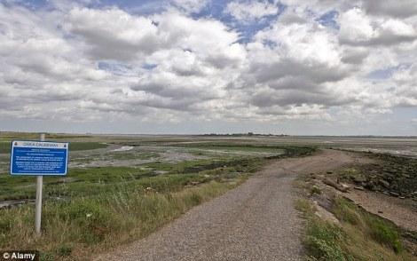 Causeway Osea Island